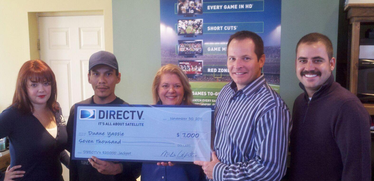 DIRECTV & Its All About Satellites $7000 Contest Winner