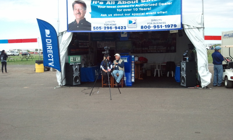 Its All About Satellites DIRECTV Tent at 40th Annual International Balloon Fiesta
