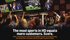 DIRECTV for Bars Restaurants - More Sports More Money