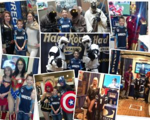 Its All About Satellites DIRECTV at the Albuquerque Comic Con 2012