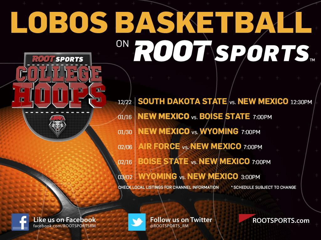 New Mexico Lobos Basketball Wallpaper