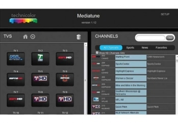 DIRECTV COM3000 MediaTune by Technicolor User Interface