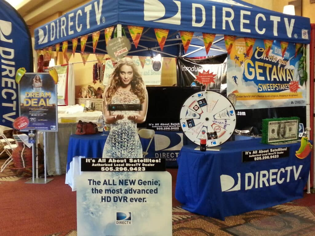 DIRECTV Booth at Fiery Foods Show 2013