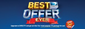 DIRECTV Best Offer Ever Slider