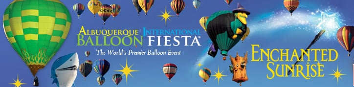 Albuquerque International Balloon Fiesta Header