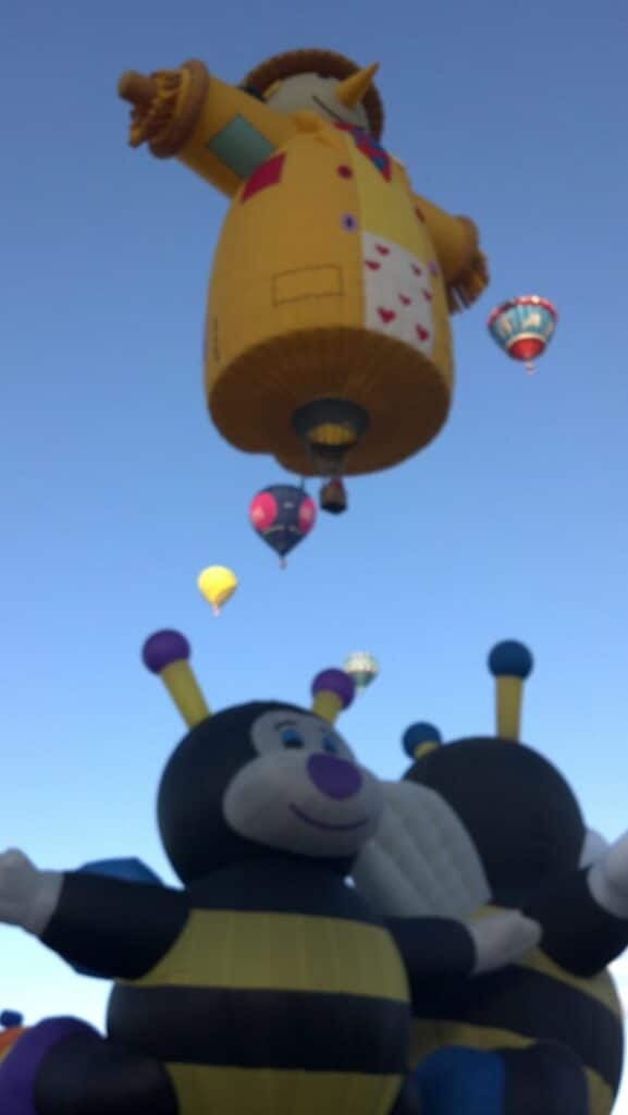 Its All About Satellites at Balloon Fiesta 2012