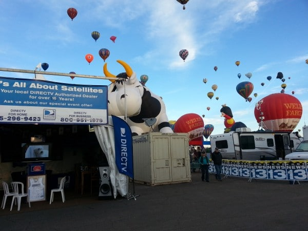 Its All About Satellites and DIRECTV at Albuquerque International Balloon Fiesta