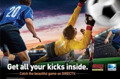 DIRECTV Soccer Banner