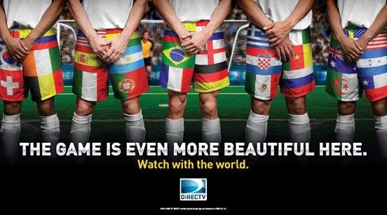 DIRECTV World Cup Soccer Promotions Banner - DIRECTVMVP.com