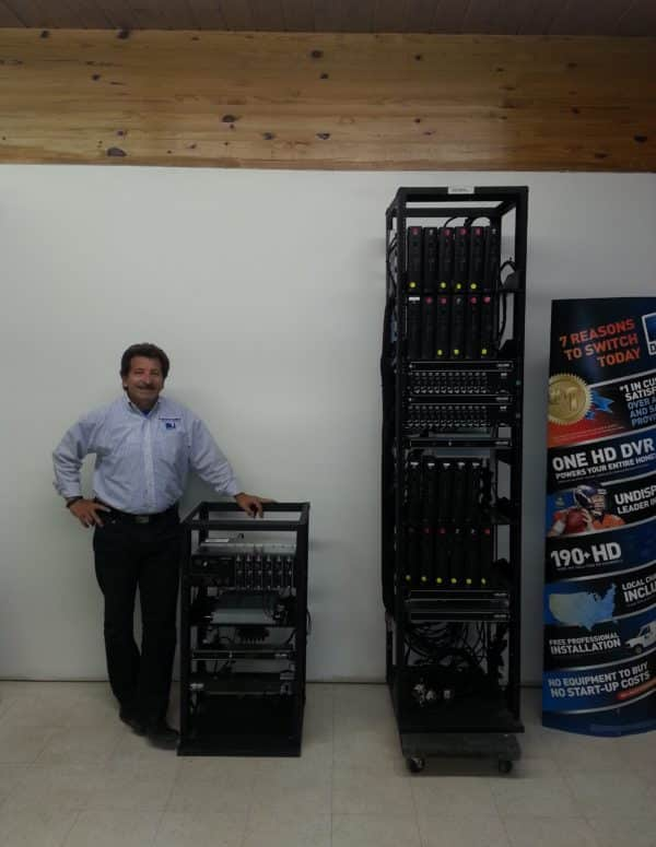 TV for Hotels - 48 Channel COM2000 HD Headend vs 24 Channel SD Headend