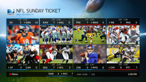FREE PREVIEW of NFL SUNDAY TICKET on DIRECTV Sept 13th - NFL Sunday Ticket Mix Channel - Big Time Savings Offer from DIRECTV