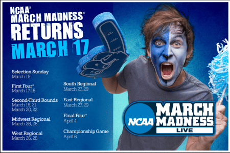 NCAA March Madness on DIRECTV