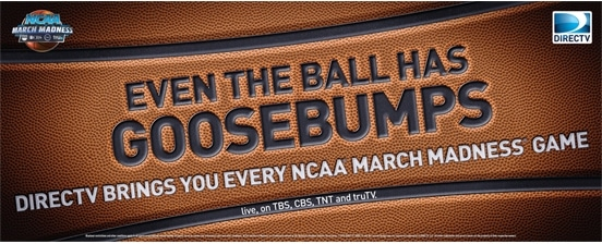 NCAA Tournament March Madness Banner from DIRECTV