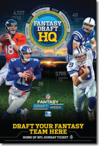 NFL Fantasy Draft from DIRECTV MVP Marketing -  DIRECTV for Business DIRECTV for Bars and Restaurants