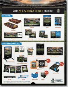 NFL Sunday Ticket Tactics from DIRECTV MVP Marketing