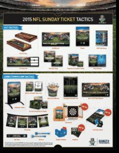 NFL Sunday Ticket Tactics from DIRECTV MVP Marketing