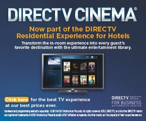 DIRECTV CINEMA Now Available for Hotels!