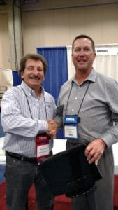 Its All About Satellites Grand Prize Winner from the THCA 65th Annual Convention - Brian Thomas of TGR Healthcare