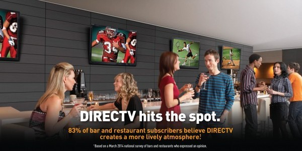 DIRECTV for Bars and Restaurants - NFL SUNDAY TICKET - ESPN College Extra - NBA League Pass - NHL Center Ice