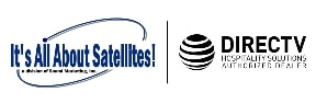 Its All About Satellites DIRECTV Hospitality Solutions Authorized Dealer Logo