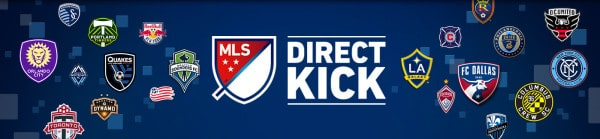 MLS DIRECT KICK with Team Logos on DIRECTV