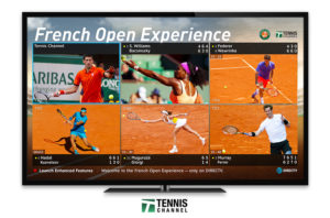French Open Mix Channel Exclusively on DIRECTV