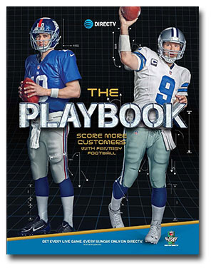 DIRECTV Fantasy Football Playbook - Its All About Satellites - Authized DIRECTV for BUSINESS dealer DIRECTV for Bars DIRECTV for Restaurants
