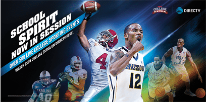 ESPN College Extra 2016 on DIRECTV - Its All About Satellites - Authorized DIRECTV dealer