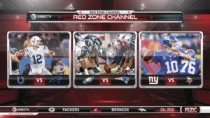 The NFL Red Zone Channel - NFL SUNDAY TICKET only on DIRECTV Its All About Satellites