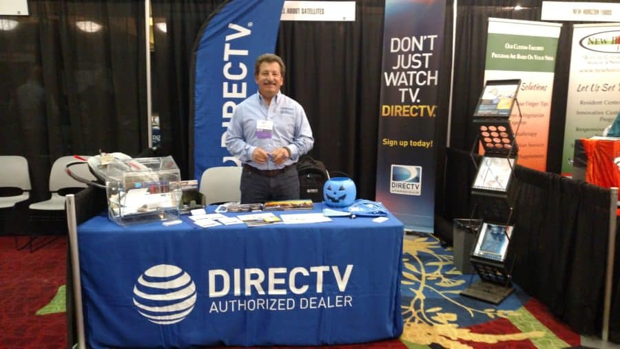 Its All About Satellites Booth - DIRECTV