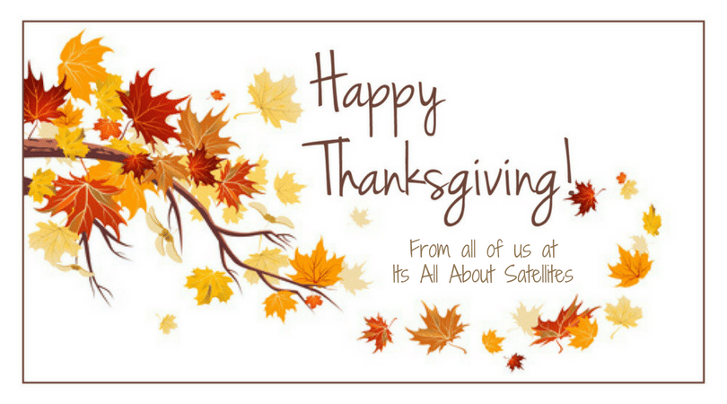 Happy Thanksgiving From all of us at Its All About Satellites - TV for Hotels - TV for RV PArks - TV for Assisted Living and Long Term Care - DIRECTV Hospitality Authorized Dealer