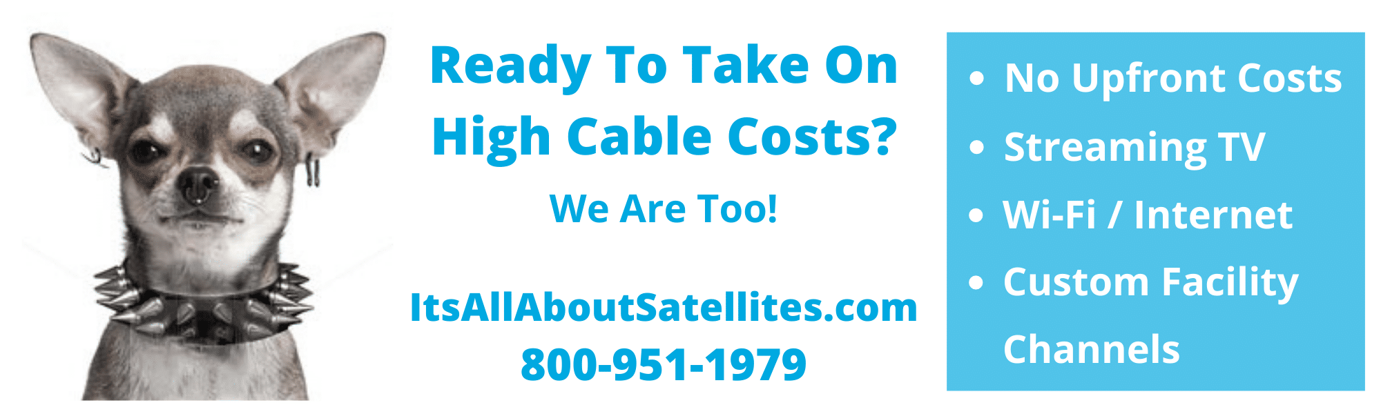 Its All About Satellites ad for the Arizona Healthcare Association Virtual Convention