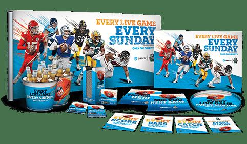 DIRECTV MVP Marketing Materials for NFL Sunday Ticket 2020