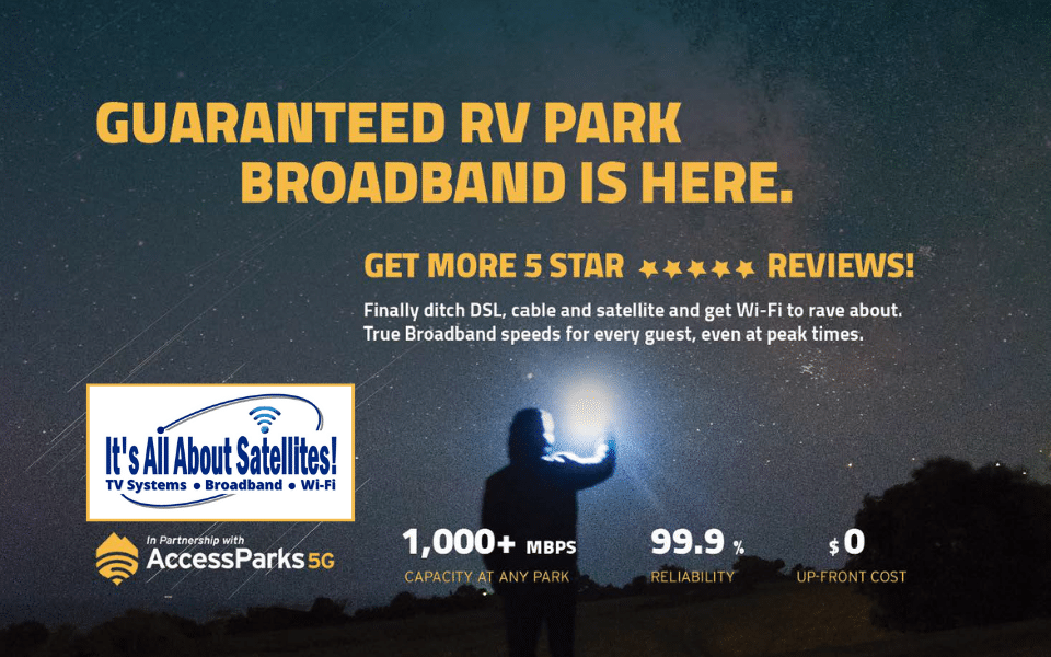 Guaranteed RV Park Broadband Is HERE