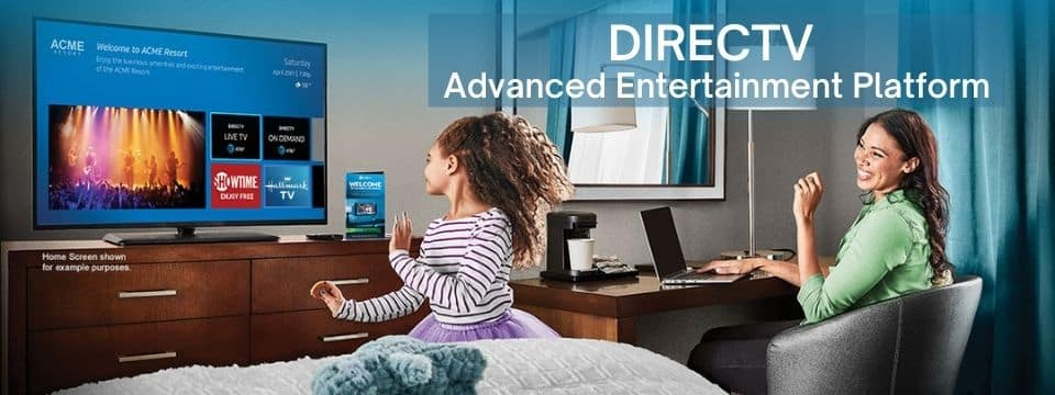 TV for Hotels – Whats New in DIRECTV for Hospitality