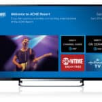DIRECTV Welcome Screen for RV Resorts, Campgrounds, Hotels, Healthcare and Assisted Living