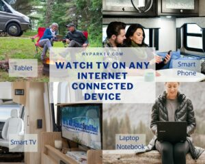 WAtch TV on Any Internet Connected Device in your RV or Camper