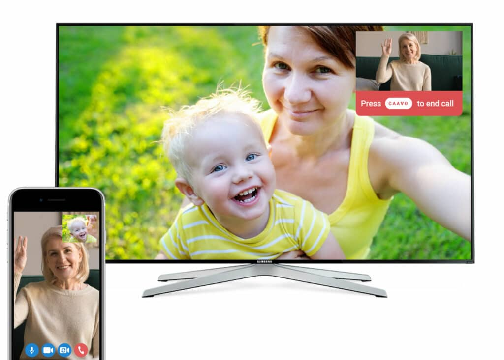 CAAVO TV-connected engagement system allows Your Assisted Living Residents to Connect with their Families - from Its All About Satellites 800-951-1979