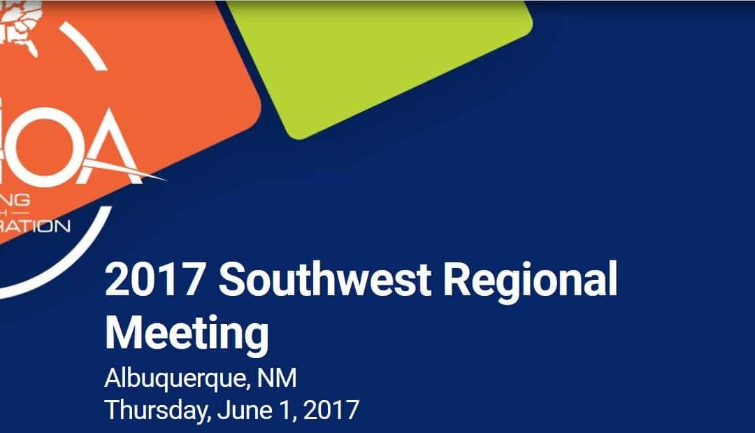 Come Join us at the AAHOA Regional Conference in ABQ
