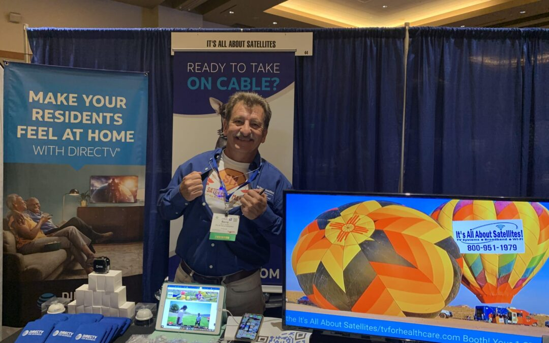 Did you see Satellite Man and Wi-Fi Boy at the Arizona Healthcare Association Convention